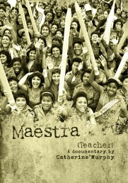 "promotional image for ""Maestra"" documentary"