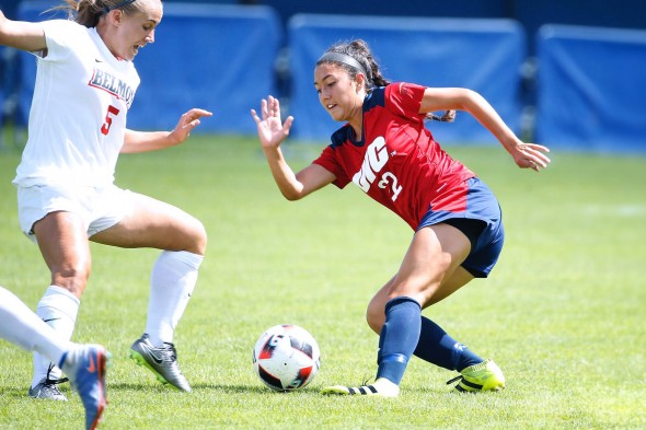 Rebeca Pallo in a game against Belmont