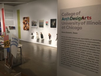 UIC's College of Architecture, Design and the Arts has a booth at EXPO CHICAGO this year.