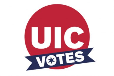 UIC votes logo