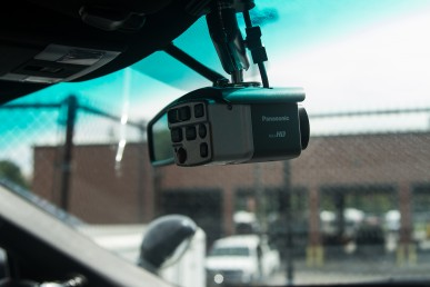 video camera in UIC police vehicle