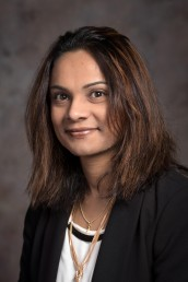 Joanna Abraham, assistant professor of biomedical and health information sciences in the UIC College of Applied Health Sciences