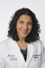Dr. Sharmilee Nyenhuis, assistant professor of medicine in the division of pulmonary, critical care, sleep and allergy at UIC College of Medicine