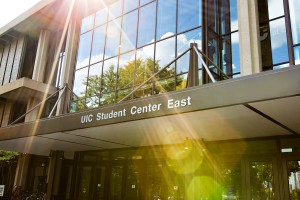 UIC Student Center East entrance