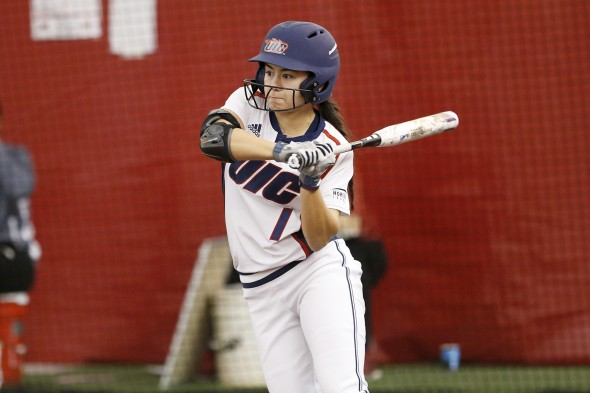 Lexi Watts at bat