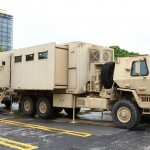US Army Reserve emergency services vehicle