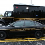Illinois Emergency Management Agency vehicles