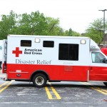 American Red Cross Disaster Relief vehicle