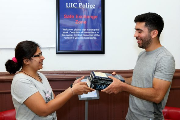 UIC Police safe exchange zone