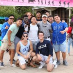 group of fraternity brothers