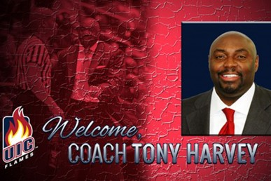 Coach Tony Harvey