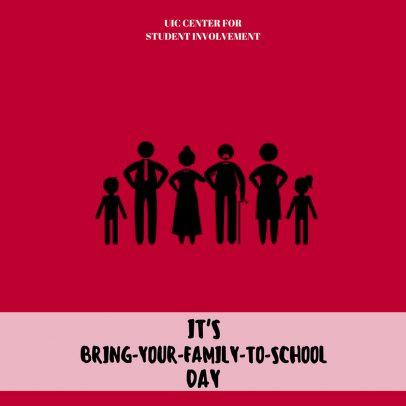 Bring your family to school day