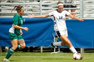 Women's soccer pulls away with 2-1 win