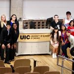 UIC Speech Team group photo