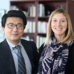 Dr. Luan Phan and Dr. Katie Burkhouse