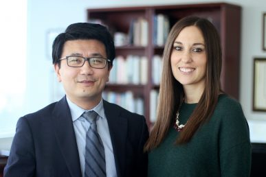 Dr. Luan Phan and Stephanie Gorka