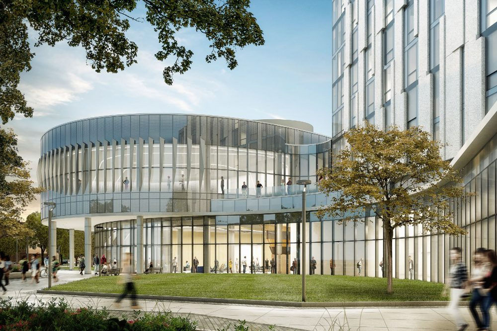 Academic and Residential Complex rendering