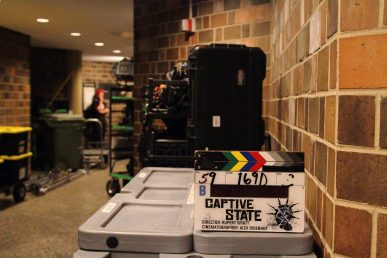 Captive State filming in SES