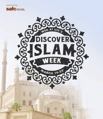 Discover Islam Week, March 19–23