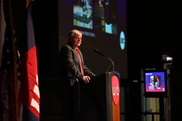 The State of UIC Address; Chancellor Michael Amiridis