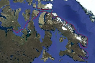 NPP Expedition Map