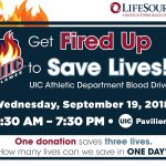 UIC Athletic Department Blood Drive