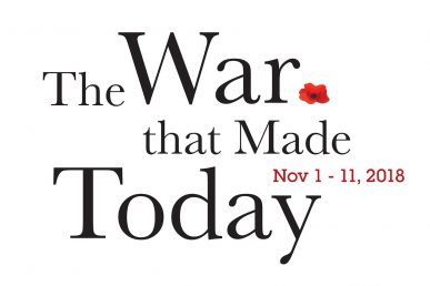 The War that Made Today logo