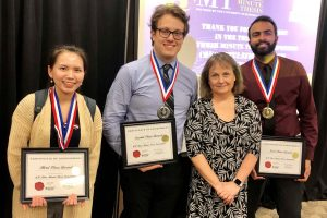 Grad students compete in Three Minute Thesis event