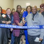 Ribbon cutting for the opening of the Cynthia Barnes-Boyd/Drake Health and Wellness Center
