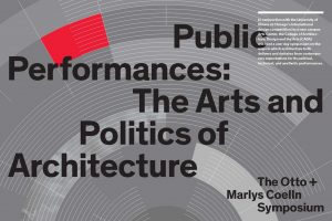Public Performances: The Arts and Politics of Architecture cover.