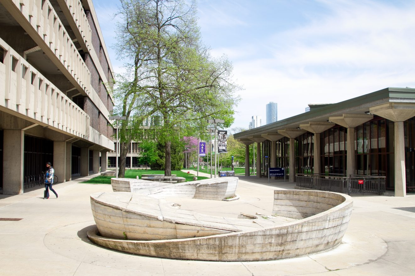 UIC campus, library