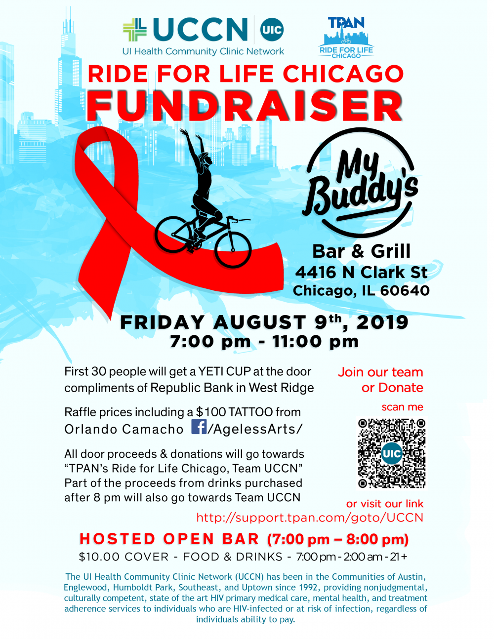 Fun evening out for a good cause | UIC Today