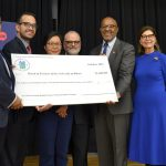 HUD Press Conference check presentation