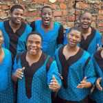 five-time Grammy-winning Ladysmith Black Mambazo vocal ensemble