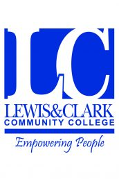 Lewis and Clark Community College and University of Illinois-Chicago logo