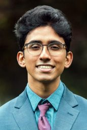Wasan Kumar, a third-year UIC Honors College student majoring in neuroscience and minoring in Global Asian studies