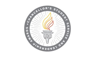 Chancellor's Student Service and Leadership Awards logo