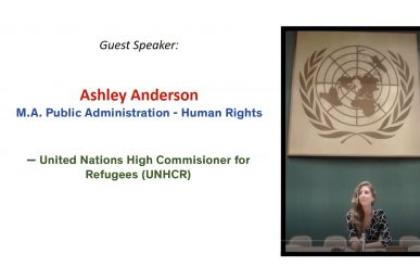 PDP Guest Speaker-Ashley Anderson
