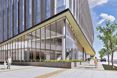 UIH Exterior Renderings-NW Perspective - Enlarged - wind girt_8K