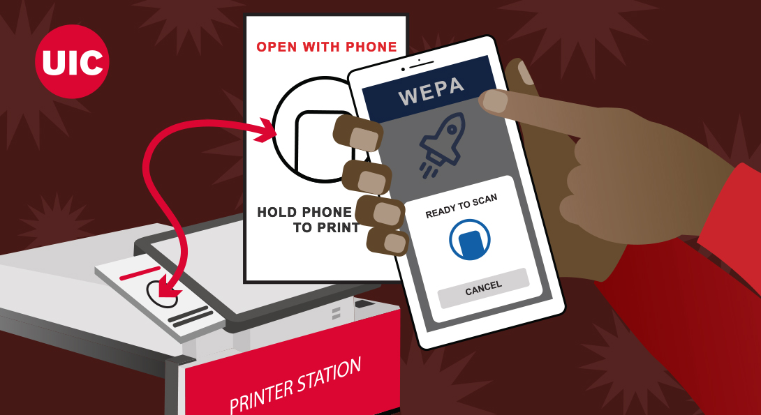 Wepa Print App — new touchless printing