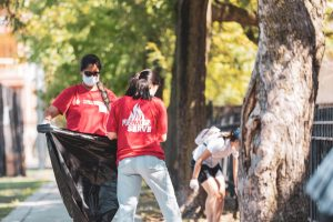 Develop leadership skills, help others this fall