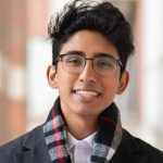 Wasan Kumar, a senior majoring in neuroscience in the College of Liberal Arts