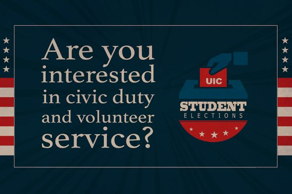 Student elections logo
