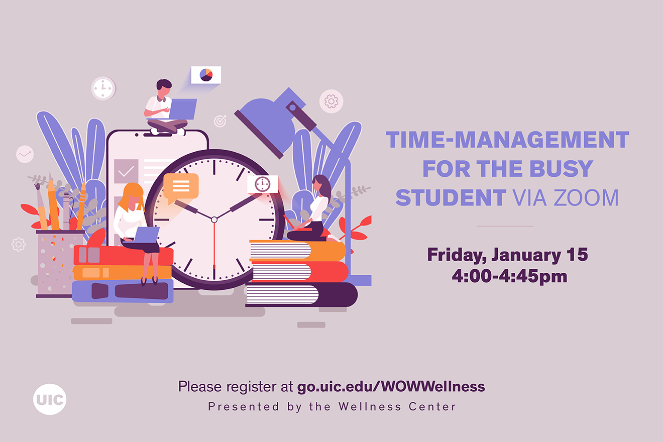 Time management for the busy student