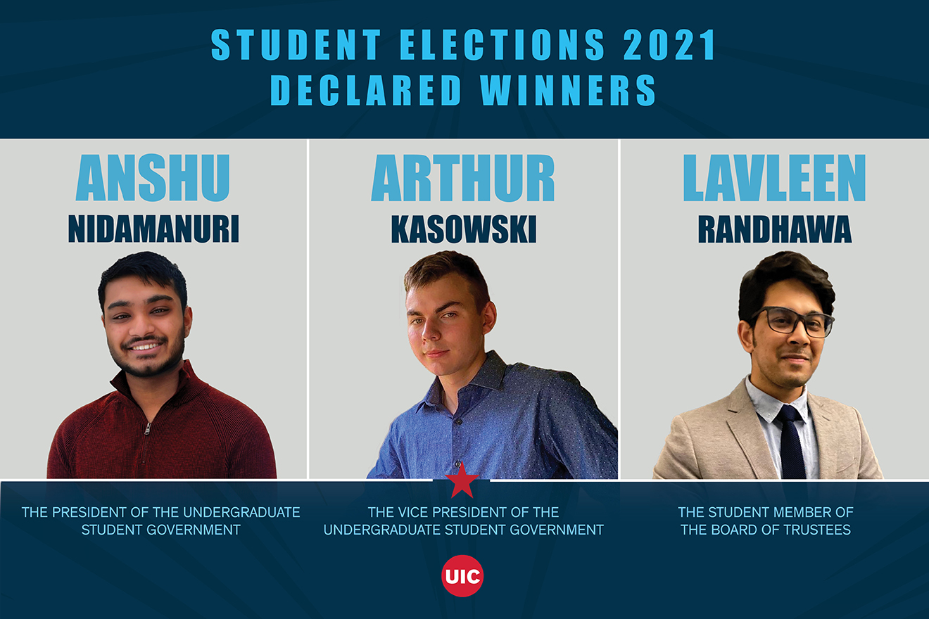 UIC Student Election winners