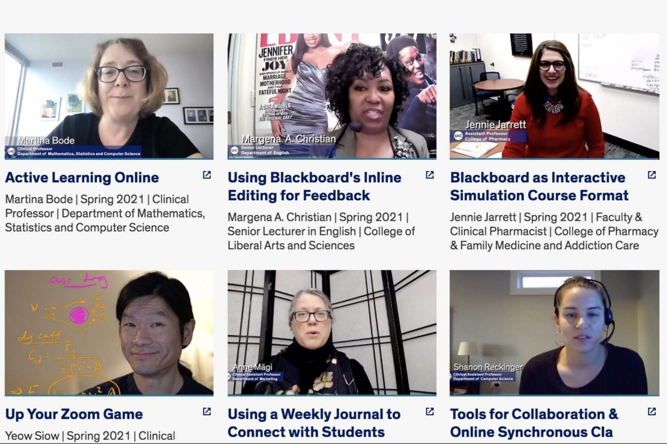 Get inspired with videos by UIC instructors