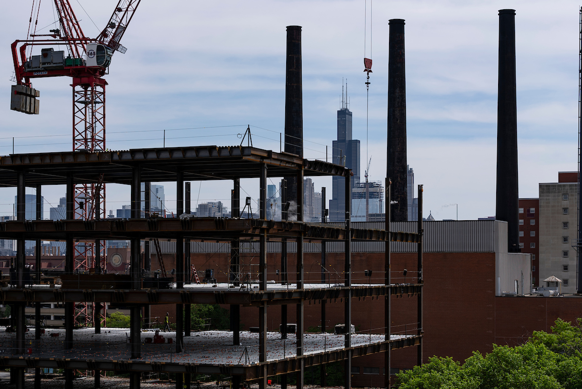 'Top-Off' at Outpatient Surgery Center marks construction milestone