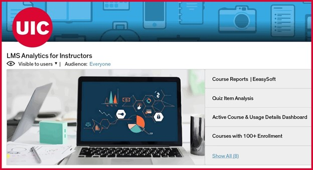 Learning analytics for instructors