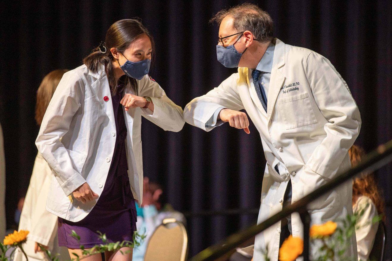 College of Medicine celebrates first-year students with White Coat ceremonies
