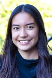 Coraima Yanez, a 2021 UIC master's graduate in community health sciences with a concentration in global health